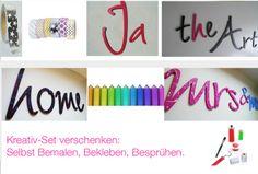 Wohndekoration - Weihnachtsgeschenk ★ DIY ★ Kreativ-Set - ein Designerstück von abc_ABC bei DaWanda