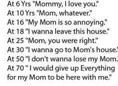 Share this if you appreciate and love your Mom whether she is here or not..............