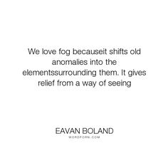 eavan boland war horse Eavan boland, by jody allen randolph, pp 249 traces the career of eavan boland as randolph persuasively argues chapter three identifies a transitional period in boland's work, as represented by the war horse (1975.