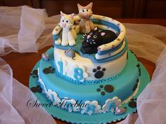 Sweet Fireblue: Torte decorate...