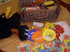 Verjaardagsmand. Hierin zitten opdrachten waaruit de kinderen kunnen kiezen. Word een kind zes jaar dan mag hij of zij zes opdrachten uit de kist kiezen.