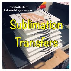 Excited to share this item from my shop: Sublimation Custom Transfers, Custom Sublimation Transfers, x 11 Sublimation Transfers, Transfers For Products, Business Supplies, Handmade Gifts, Etsy Shop, Design, Products, Kid Craft Gifts, Craft Gifts, Diy Gifts