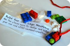 LEGO Accessory Valentine Tutorial -- how stinkin' cute is this?