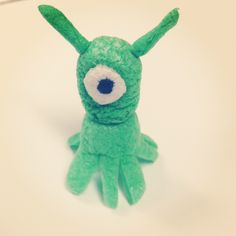 Aliens made with Magic Nuudles! pet alien anyone?