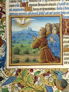 Breviary, MS M. 8 fol. 206v - Images from Medieval and Renaissance Manuscripts - The Morgan Library & Museum
