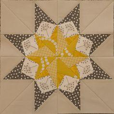 Montana pattern from 50 Paper Pieced Stars by Carol Doak