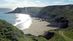 Mewslade Bay, Gower. Spent many summers here!