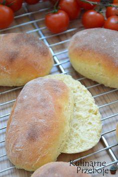 Sweet Bakery, Polish Recipes, Bread Rolls, Kefir, Hamburger, Cooking Recipes, Food, Breakfast Ideas, Breads