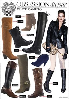 into fall with some footwear favorites from Vince Camuto! via @WhoWhatWear