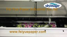 100gsm High Tacky Sublimation Paper Printed by Epson F6280 with C.M.Y.HDK