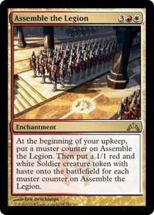 A fun card that produces tokens, which is one of my favourite strategies. This card just keeps supplying more tokens each turn. Starts with 1. then 2, then 3 and so on...  for no effort from you! Bonus!!!