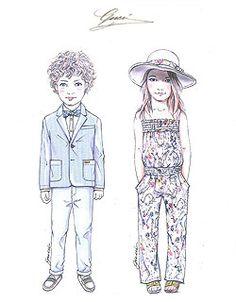 fashion sketches kids google - Kids Sketches