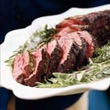 Jeri Ryan's family always grilled steaks on Independence Day, but sometimes she prefers cooking a whole beef tenderloin because it's more magnificent and the flavor is more delicate. When selecting a tenderloin roast, smaller is better because the meat will be firmer.