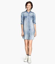 Dżinsowa sukienka >