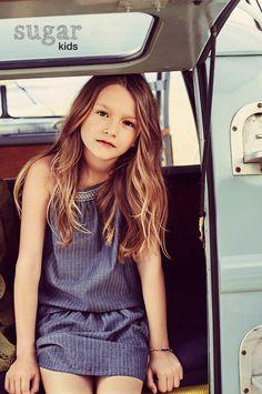 Lola de Sugar Kids para Massimo Dutti                                                                                                                                                     More