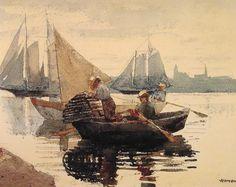 Winslow Homer - The Lobster Pot