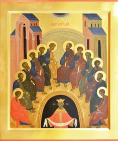 Art Icon, Sacred Art, Art History, Religion, Scene, Painting, Image, Saints, Architecture