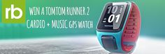 We have four TomTom Runner 2 GPS running watches up for grabs!