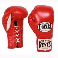 Cleto Reyes pro fight gloves.