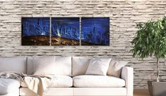 Add a dynamic and rustic touch to your bedroom! Blue large painting - Printables by FraBorArt. #walldecor #homedecor #interiordesign #painting #modernart #abstract #minimalist #art #blue #black #mixedmedia #textured #fraborart #style #downloadable #printable #affordable #etsy