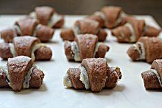 Chocolate Cheesecake Rugelach Cookies