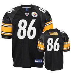 Pittsburgh Steelers Hines Ward #86 Reebok AUTHENTIC On Field SEWN (58) Jersey #Reebok #PittsburghSteelers