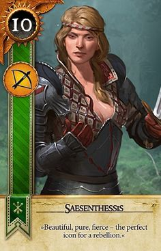 Saesenthessis (Gwent Card) - The Witcher 3: Wild Hunt