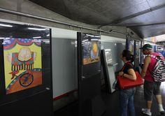 Estação Santana do Metrô de São Paulo - nov/2014