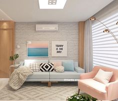 Ideas Home Decored Ideas Modern Bedroom Color Schemes Living Room Colors, Small Living Rooms, Living Room Designs, Living Room Decor, Bedroom Color Schemes, Bedroom Colors, Balinese Decor, Bungalow Decor, Living Room Remodel