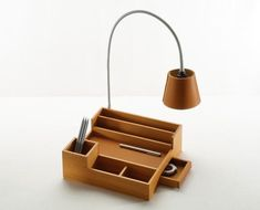 Modern Small Wooden Desk Organizer Ideas For Home Office