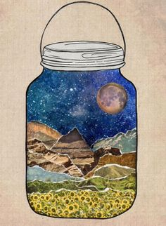 ...because I do love things in jars (don't know why but I do)