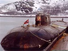 Oscar II-class Guided Missile Submarine Kursk in better days.