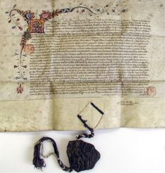 Letters patent of Henry VI confirming Henry IV's grant, made in 1404, of powers of self-government to English merchants in Prussia, Denmark, Norway, the Hanse regions and Sweden, 1428 (King's Lynn Borough Archives)
