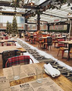 Eataly's Cozy Pop-Up Rooftop Restaurant Feels Like You're in an Italian Alps Ski Lodge | spoiled NYC