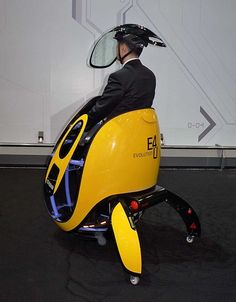 Hyundai dreams up egg-shaped E4U personal transporter | The Verge