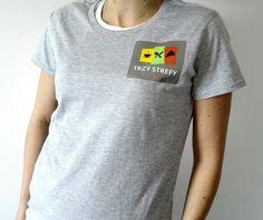 #koszulka dla #team'u #restauracji Trzy Strefy T Shirts For Women, Mens Tops, Design, Fashion, Moda, Fashion Styles, Fashion Illustrations