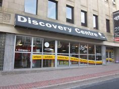 Discovery Centre - a great, hands-on science centre for children and adults too!
