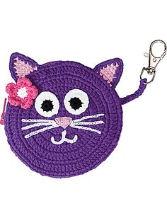 Clip-on Crochet Coin Purse Product Information