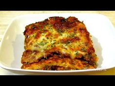 The Wolfe Pit: Lasagna Recipe - (Low Carb Recipe) - Noodleless Lasagna