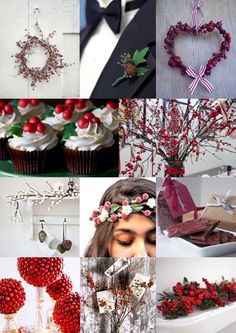 Berry Christmas Wedding Ideas from The Wedding Community
