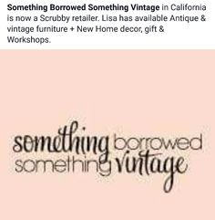 this store has some beautiful bedroom furniture, decorated with pillows from the fabric section, and gives classes on Annie Sloan paint makeovers. @somethingborrowedsomethingvintage