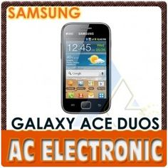 Samsung Galaxy Ace Duos S6802 Dual SIM Phone Black-Smartphone and Mobile Phone