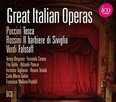 Various - Puccini/Verdi/Rossini: Great Italian Operas