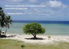 Quote by Malcolm Forbes. Photo by Ashford Student.