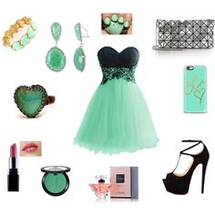 A fashion look from January 2015 featuring lace mini dress, heel pump and purse clutches. Browse and shop related looks. Prom, Polyvore, Stuff To Buy, Shopping, Collection, Design, Women, Senior Prom, Design Comics