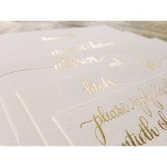 Letterpress + Gold Foil Wedding Invitation Suite by Reverie Events Letterpress Invitations, Letterpress Wedding Invitations, Invitation Paper, Wedding Invitation Suite, Wedding Stationary, Wedding Suite, Wedding Envelopes, Invitation Ideas, Invites