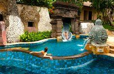 Dramatic oceanfront setting: Bali's AYANA Resort