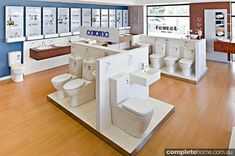 If you're looking to renovate, stop in at Central Plumbing Plus' exceptional Melbourne showroom. Bathroom Design Luxury, Bathroom Design Small, Bathroom Modern, Bath Design, Bathroom Designs, Master Bathroom, Bathroom Store, Big Bathrooms, Showroom Interior Design