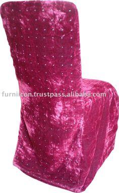 Velvet wedding chair cover ...www.alibaba.com