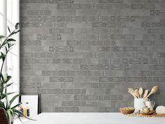 APARICI UPTOWN GREY #aparici #tiles #tilestyle #inspiration #decoration #fliesen #interiordesign #interiors #walldecoration #dahofawoas #emanuelhofer Simple Bathroom Designs, Style Tile, White Bodies, Kitchen Tiles, Porcelain Tile, Wall Tiles, Artisan, Art Deco, Wall Decor